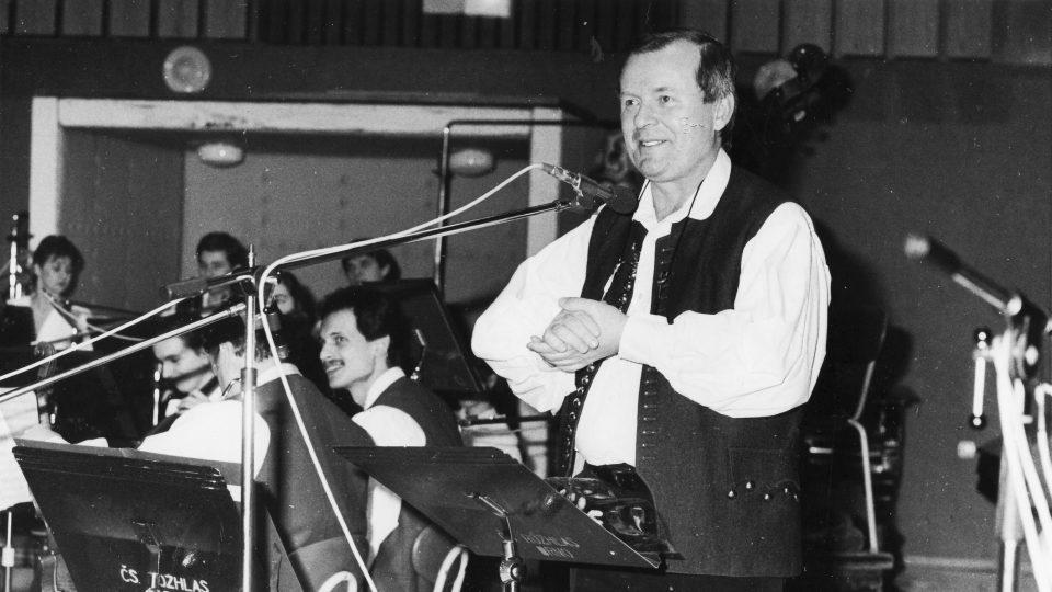 Jindřich Hovorka (foto z roku 1992)
