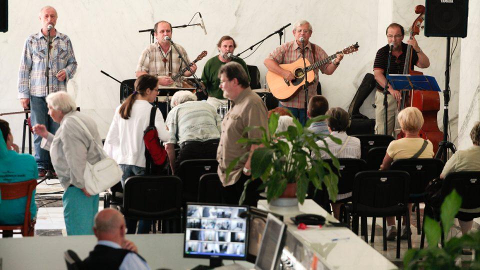 Skupina Eldorádo koncertovala v hale