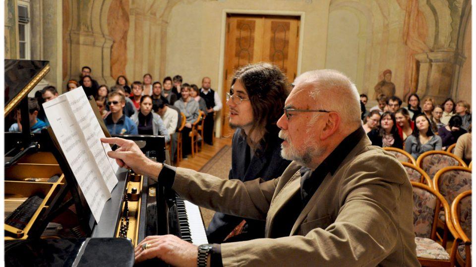 Václav Hollar a Karel Růžička na hudebním semináři