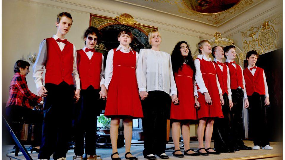 Vystoupení studentů Školy Jaroslava Ježka