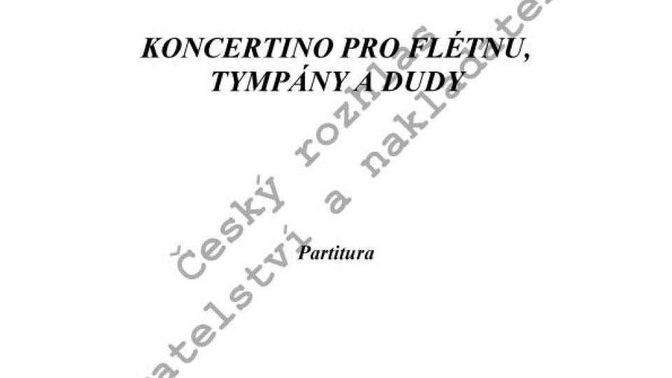 Jiří Gemrot - Koncertino pro flétnu, tympány a dudy