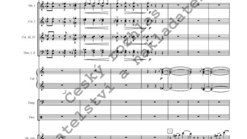 Oldřich Flosman - Koncert pro hoboj a orchestr
