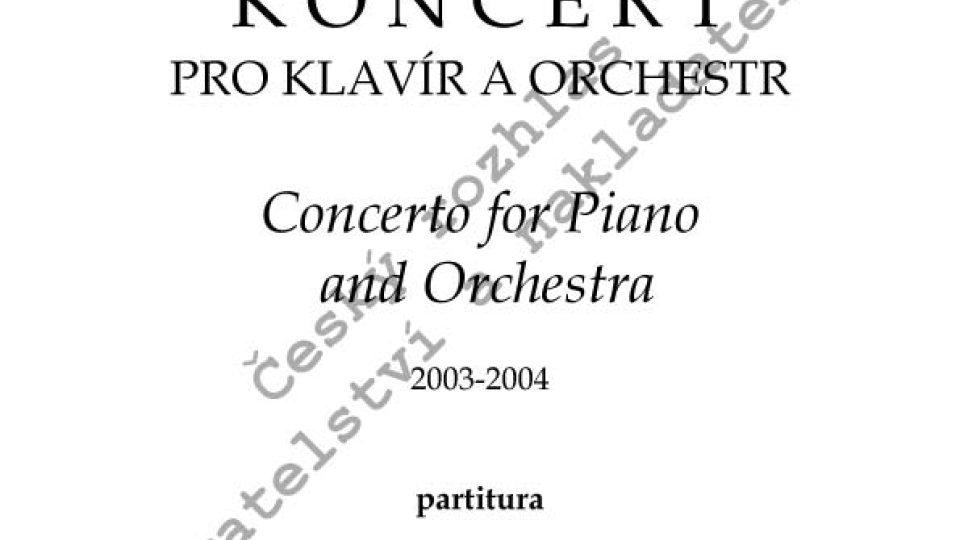 Jiří Gemrot - Koncert pro klavír a orchestr