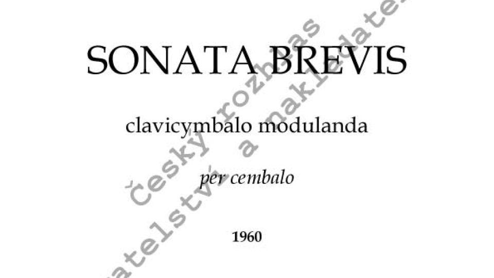 Jan Novák - Sonata brevis