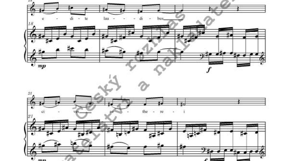 Jan Novák - IV Hymni christiani