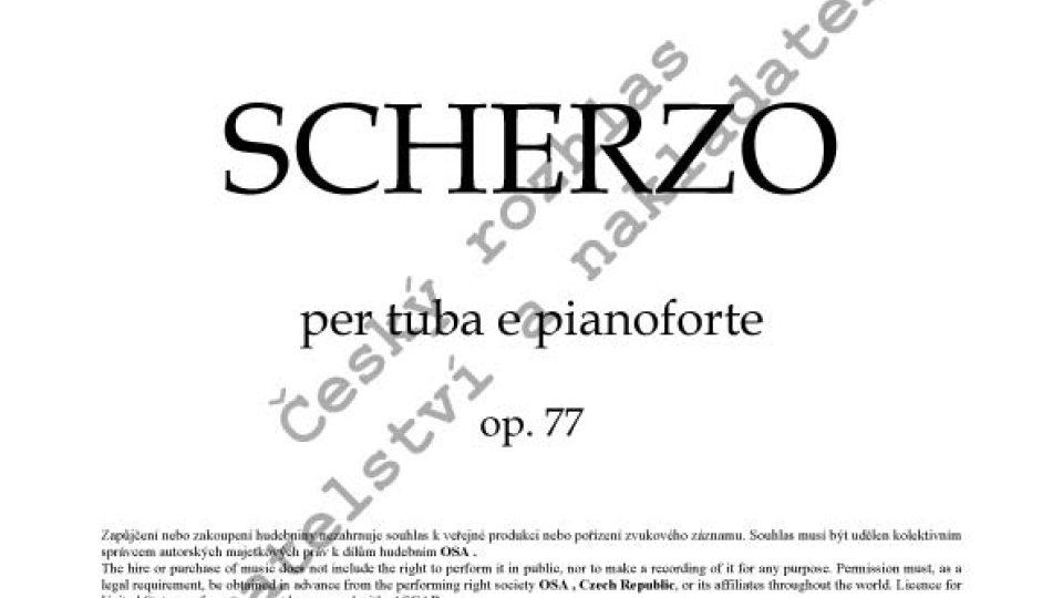 František Domažlický - Scherzo pro tubu a klavír