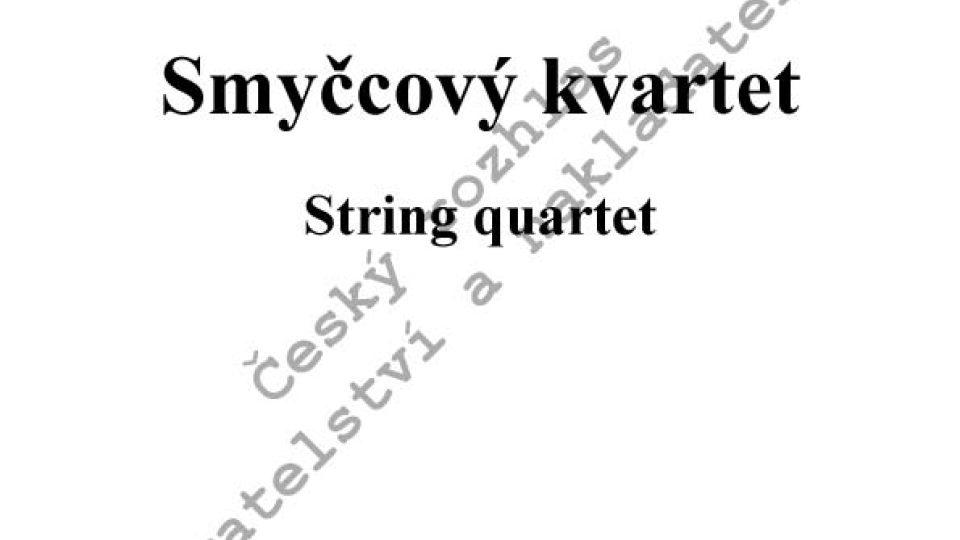 Miroslav Srnka - Smyčcový kvartet