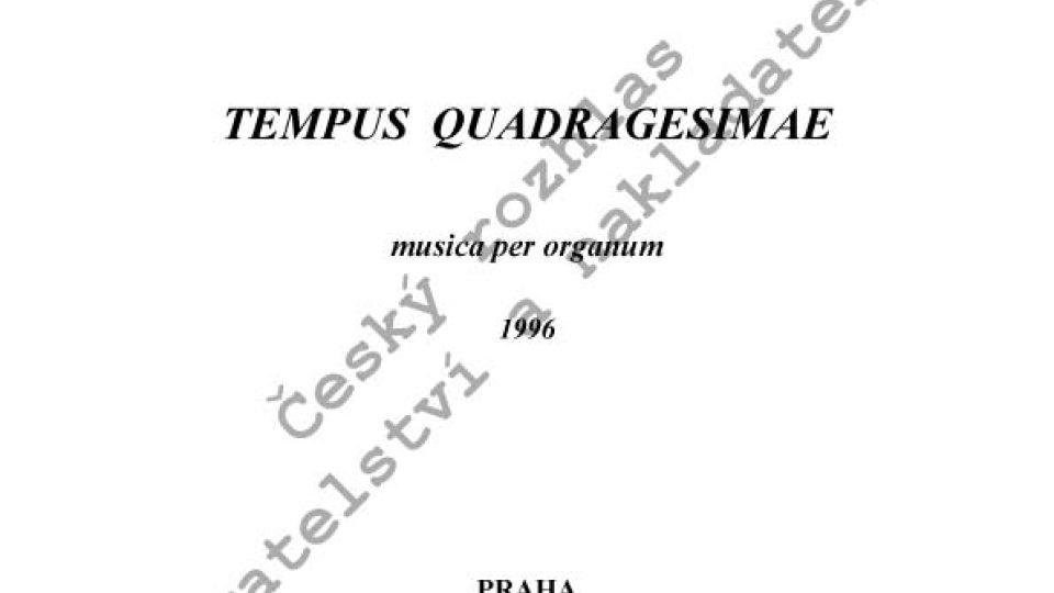 Radek Rejšek - Tempus quadragesimae