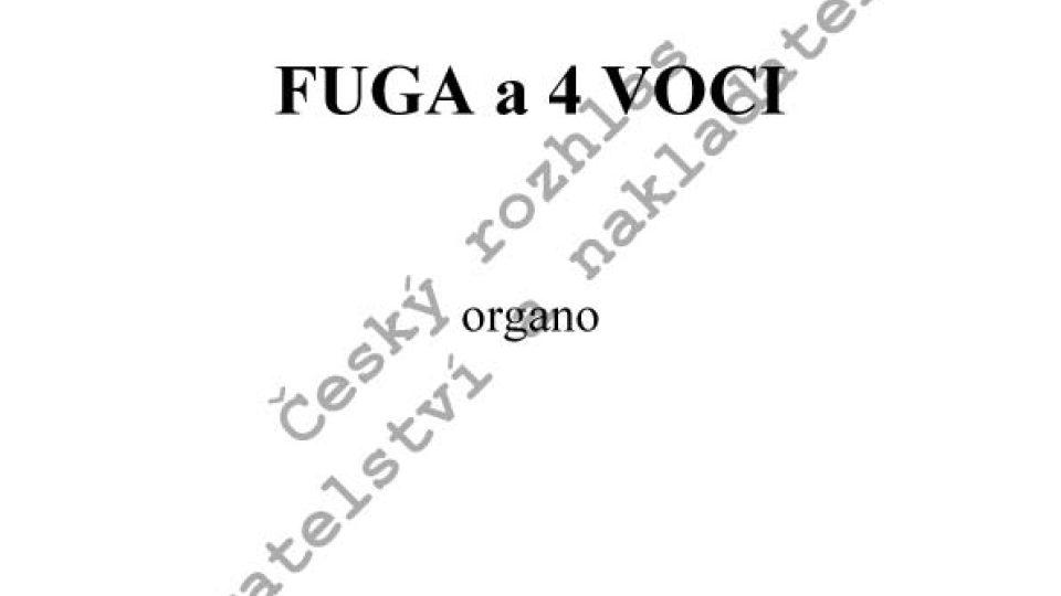 Václav Trojan - Fuga a 4 voci
