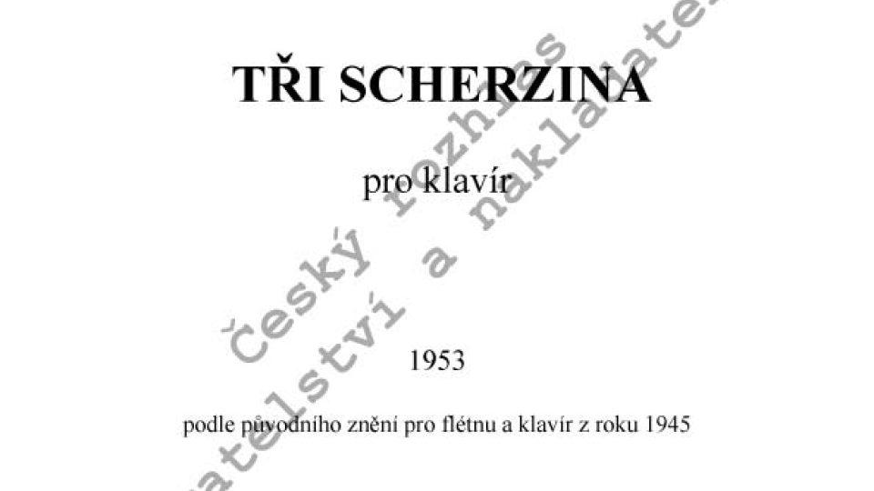 Iša Krejčí - Tři scherzina