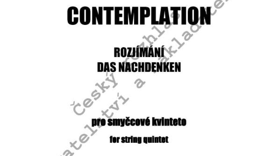 Jan Kučera - Contemplation