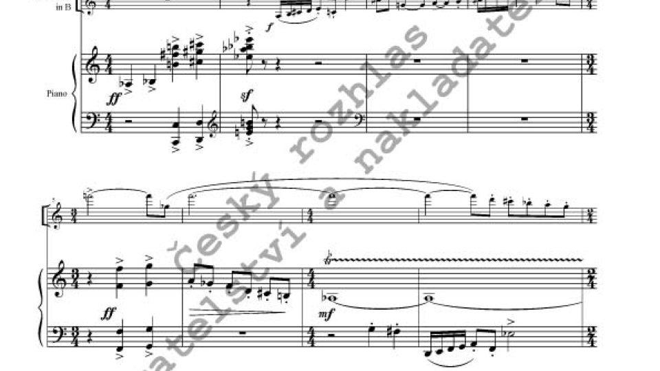 Ivana Loudová - Sonáta pro klarinet a klavír