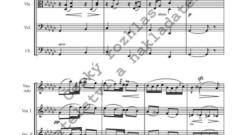 Antonín Dvořák/instr. F. X. Thuri - Humoreska op. 101, č. 7