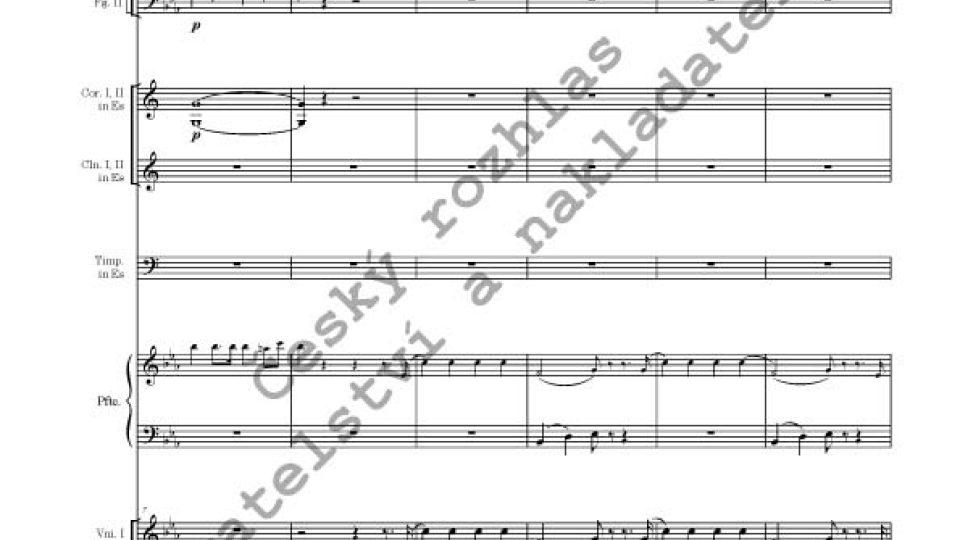 Václav Jan Tomášek (editor Vojtěch Spurný) - Koncert pro klavír a orchestr Es dur, op. 20