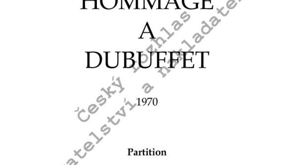 František Chaun - Hommage a Dubuffet