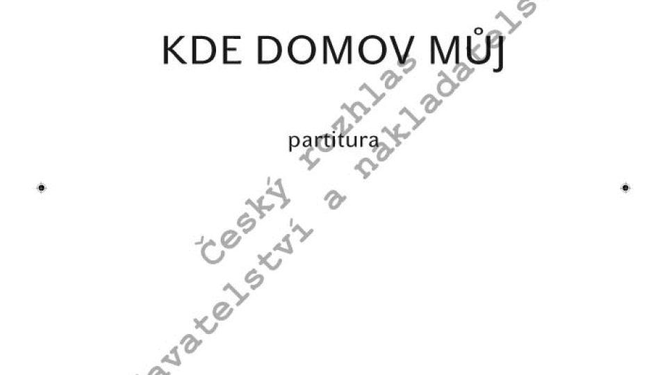 František Škroup / úprava Otakar Jeremiáš - Kde domov můj