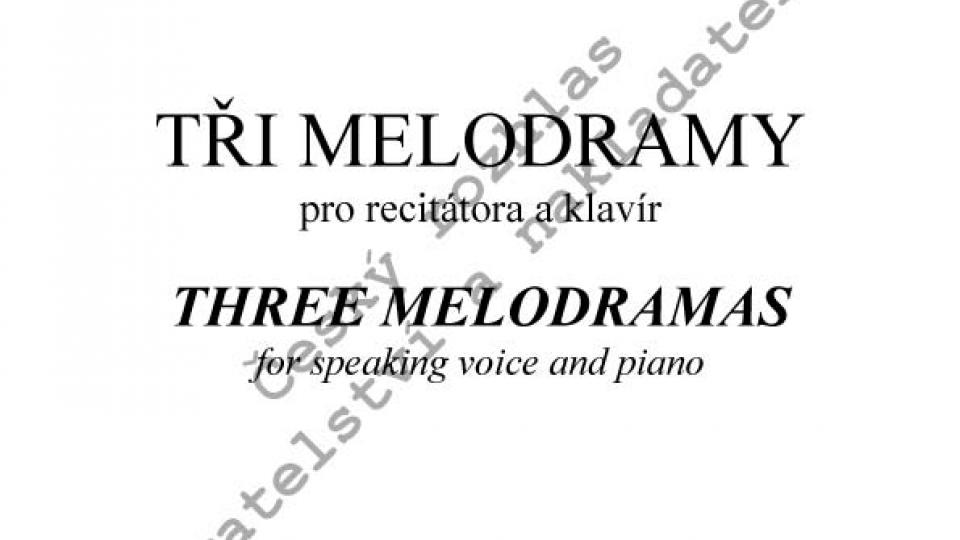 Martin Hybler - Tři melodramy