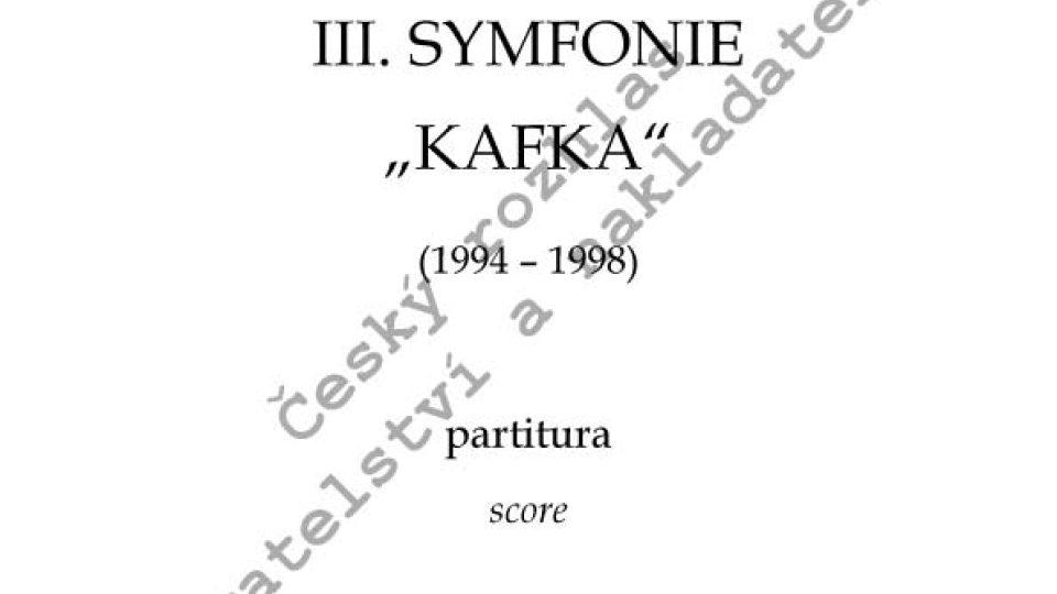"""Jiří Teml - Symfonie č. 3 """"Kafka"""""""