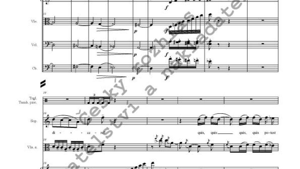 Zdeněk Lukáš - Quis potest dicere, op. 346