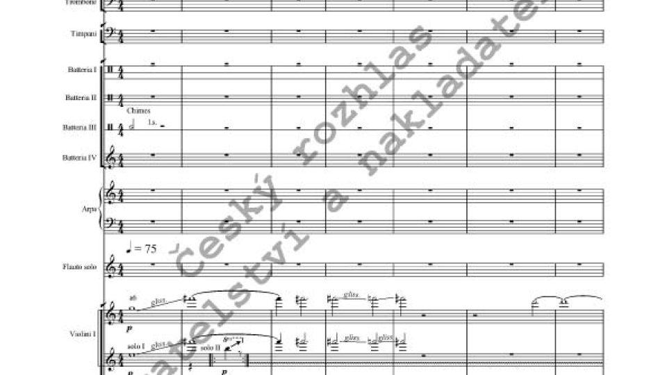 Marie Sommerová - Koncert pro flétnu a komorní orchestr