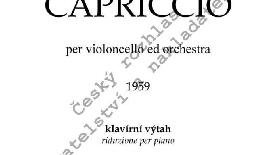 Jan Novák - Capriccio/kl. výtah