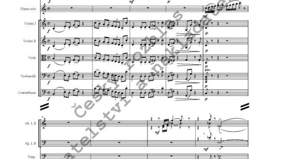 Ilja Hurník - Koncert pro flétnu a komorní orchestr