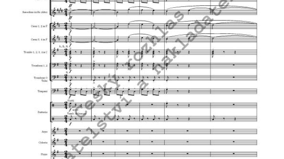 Dalibor C. Vačkář - Hudba k filmu Pyšná princezna