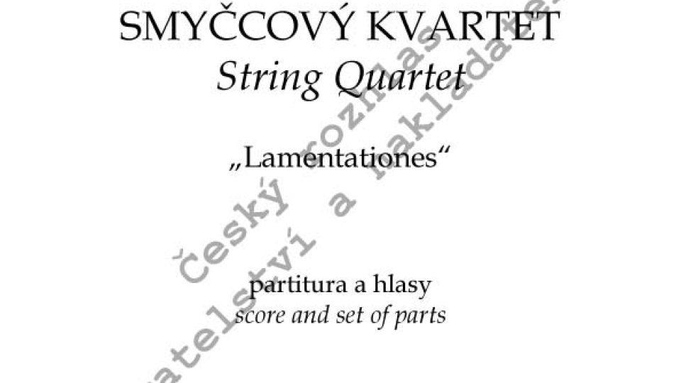 "Eduard Douša - Smyčcový kvartet ""Lamentationes"""