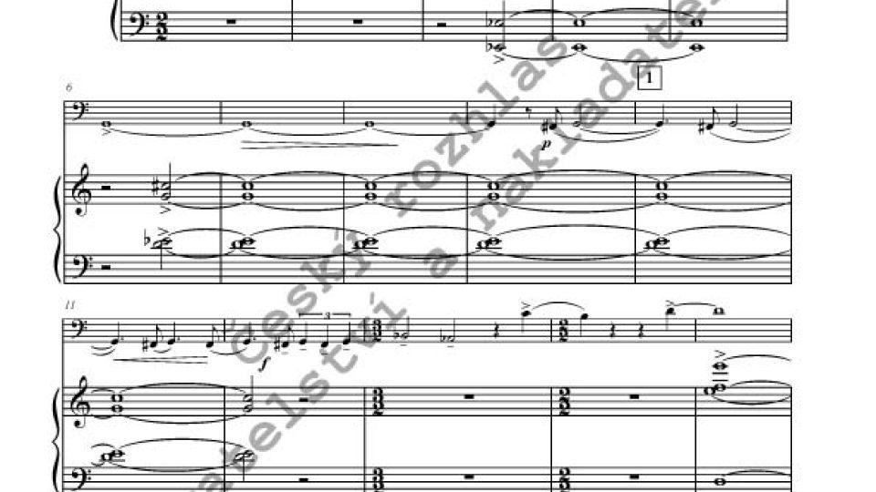 Miroslav Kubička - Sonáta pro pozoun a klavír