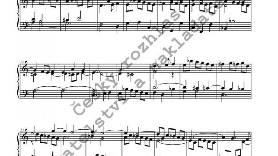 Josef Seger - Varhanní skladby, Preludia, Preambula, Fantasie
