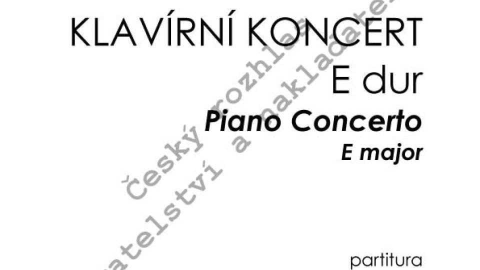 Emil Viklický - Klavírní koncert E dur
