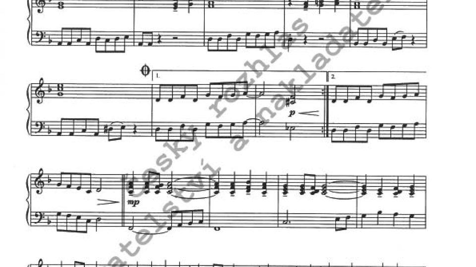 Milan Dvořák - Klavírní jazzové minietudy