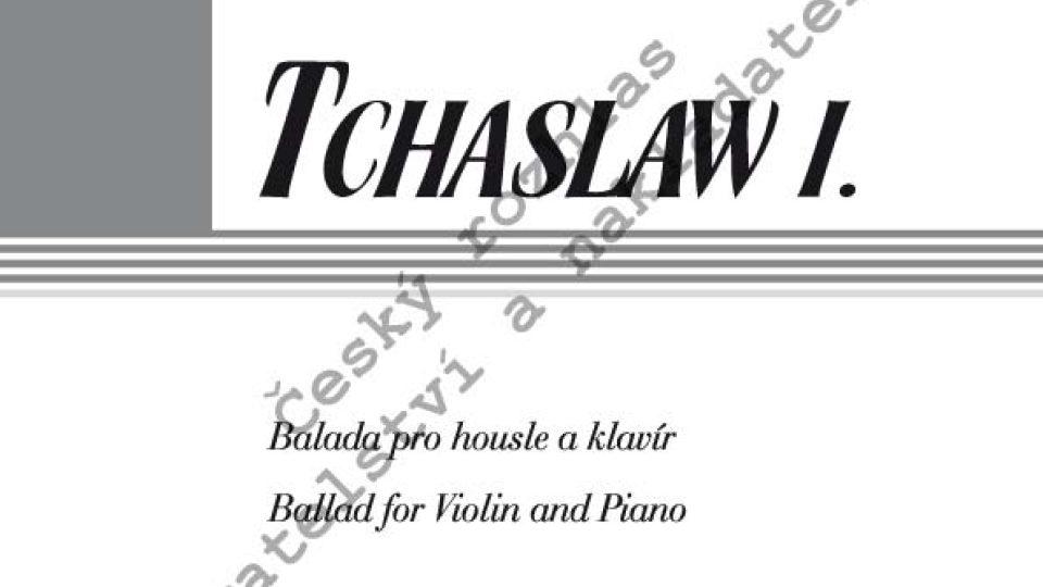 Jindra Nečasová Nardelli – Tchaslaw I.