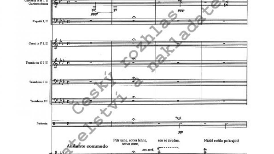 Josef Bohuslav Foerster - Romance štědrovečerní