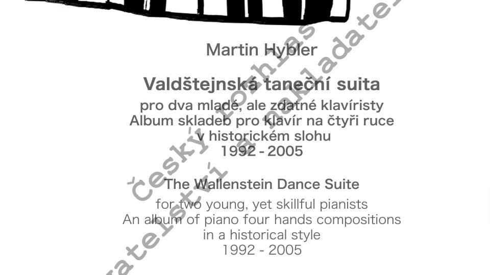 Martin Hybler - Valdštejnská taneční suita