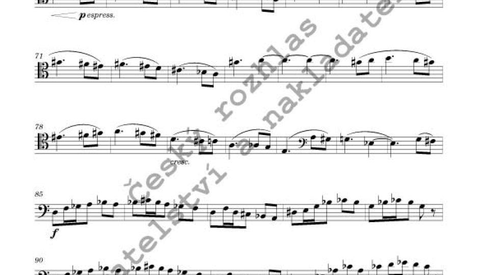 Capriccio pro cello a klavír - Jiří Gemrot