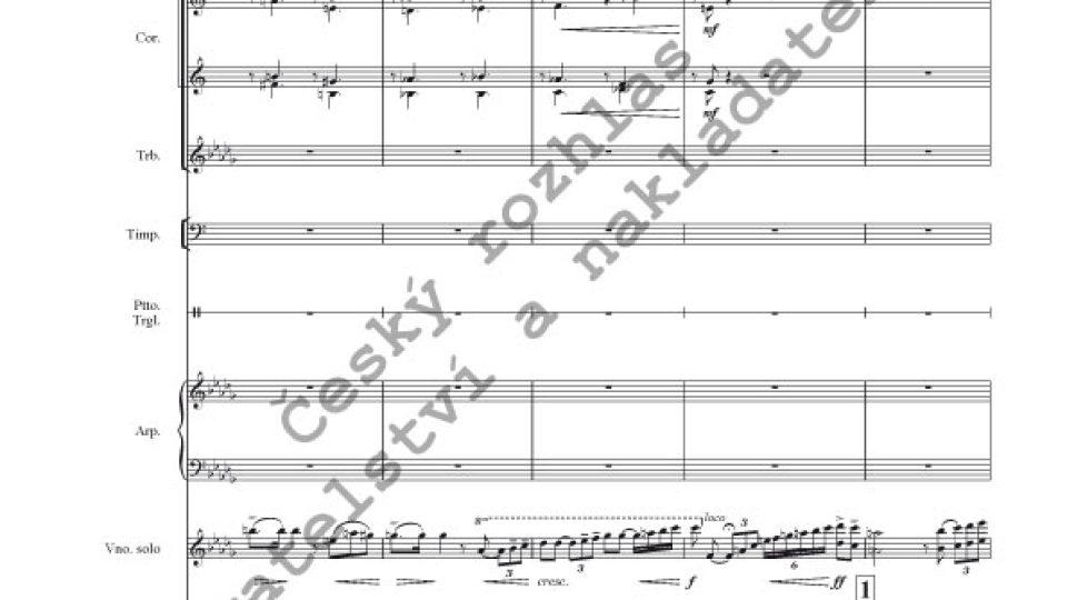 Píseň lásky - Josef Suk / instr. Václav Smetáček