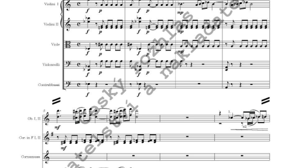 Concertino pro dudy a orchestr Es dur - František Domažlický