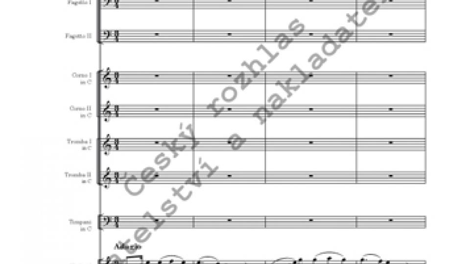 Ouvertura C dur - Antonín Rejcha