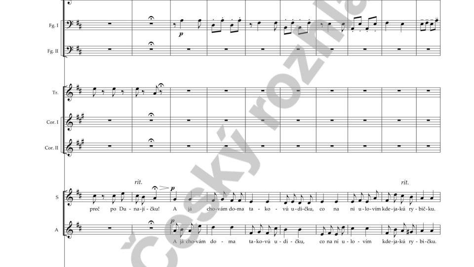 Moravské dvojzpěvy - Antonín Dvořák