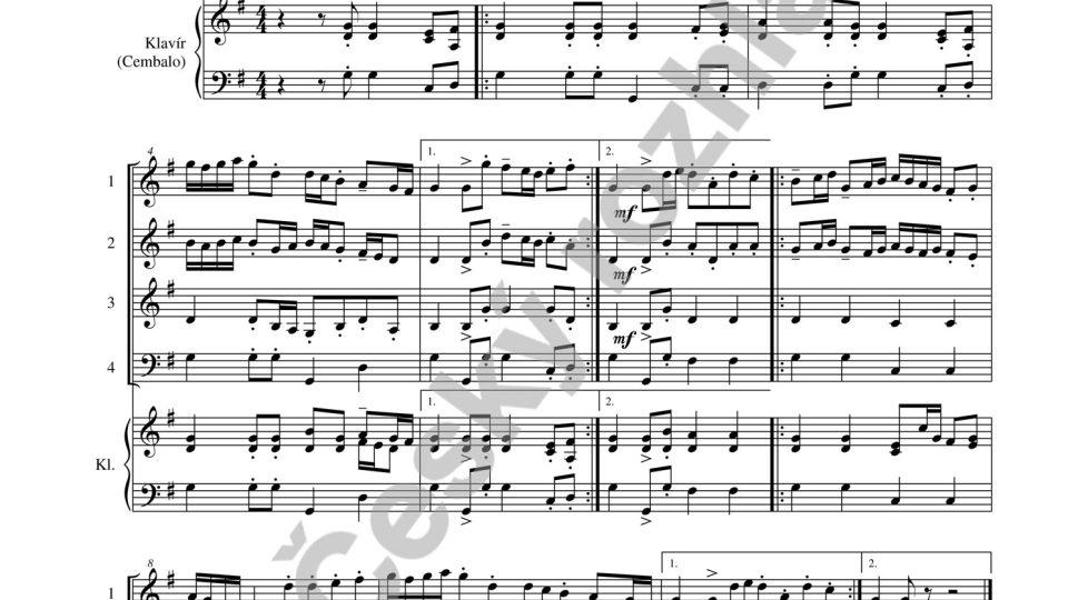 Tance a taneční melodie 17. a 18. století - Jaroslav Krček