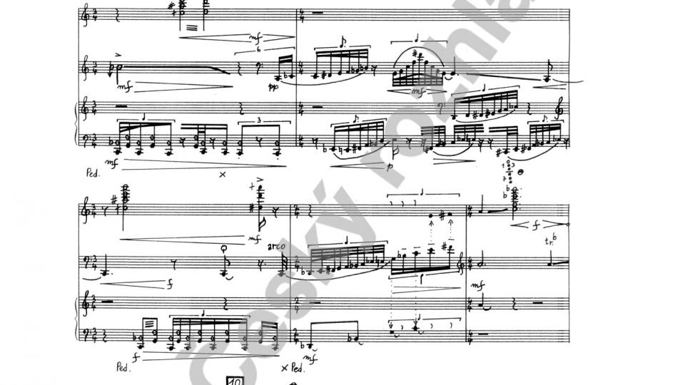 Kaligramy pro flétnu, violoncello a klavír - Ondřej Štochl