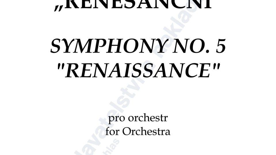"Symfonie č. 5 ""Renesanční"" - Jaroslav Krček"