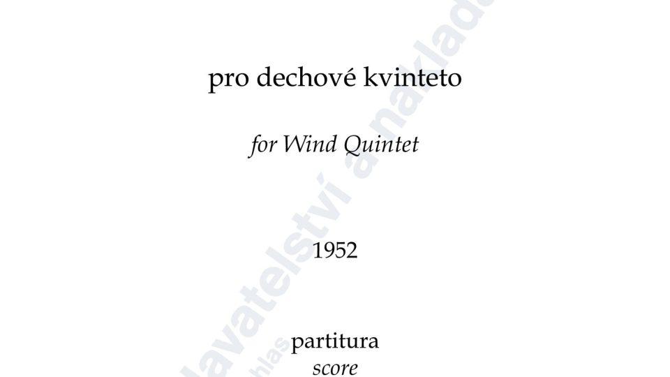 Divertimento pro dechové kvinteto, op. 10 - Viktor Kalabis