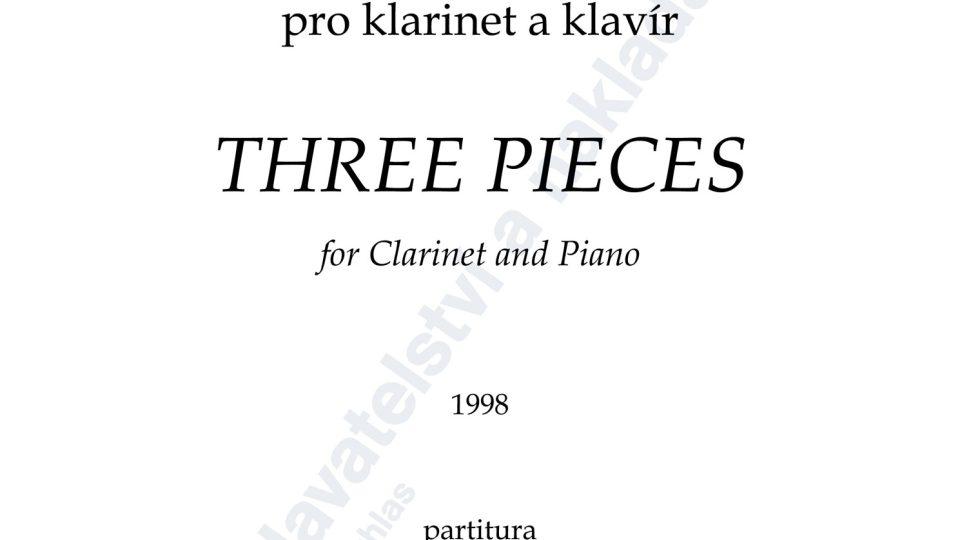 Tři kusy pro klarinet a klavír - Zdeněk Šesták