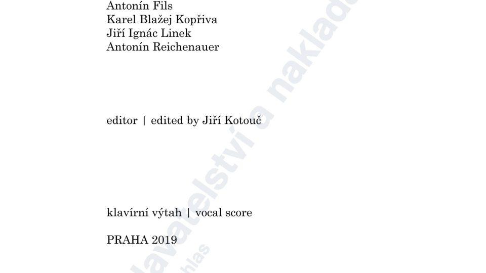 Duchovní árie a dueta (ed. Jiří Kotouč)