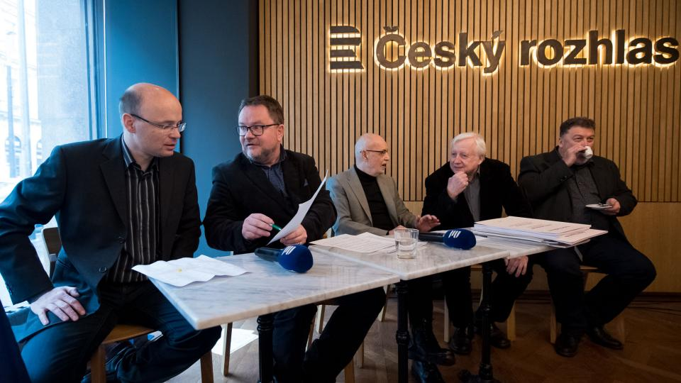 Zleva: Robert Škarda, Robert Tamchyna, Josef Marek, Ivan Kurz a Lukáš Hurník