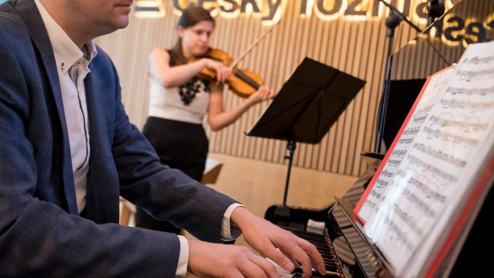 Jana Kubánková a Martin Hybler