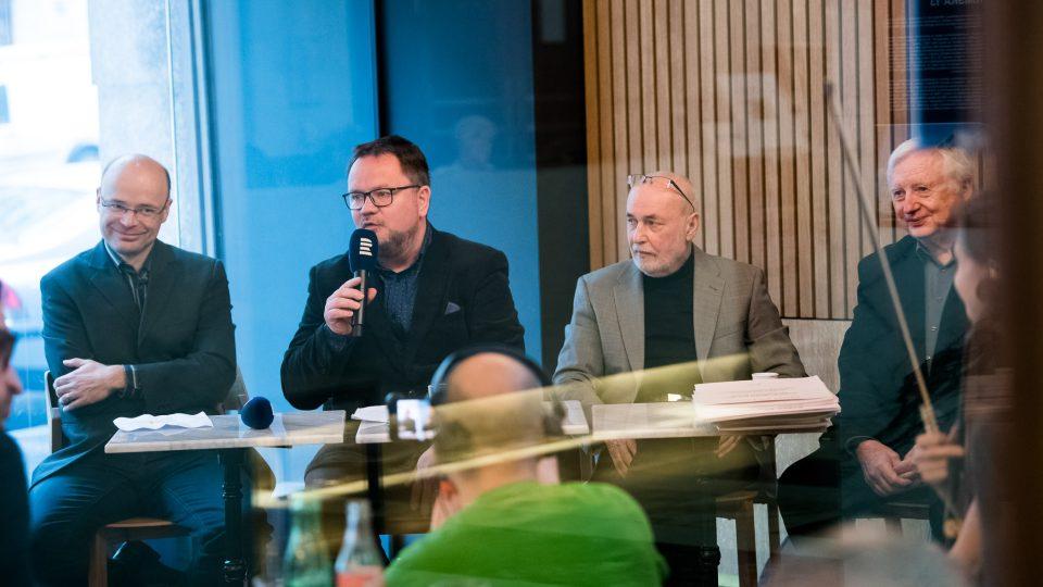Zleva: Robert Škarda, Robert Tamchyna, Josef Marek, Ivan Kurz